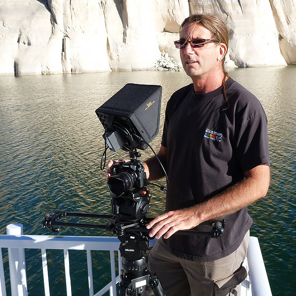 Lake Powell shoot - Aramark Web Video Series