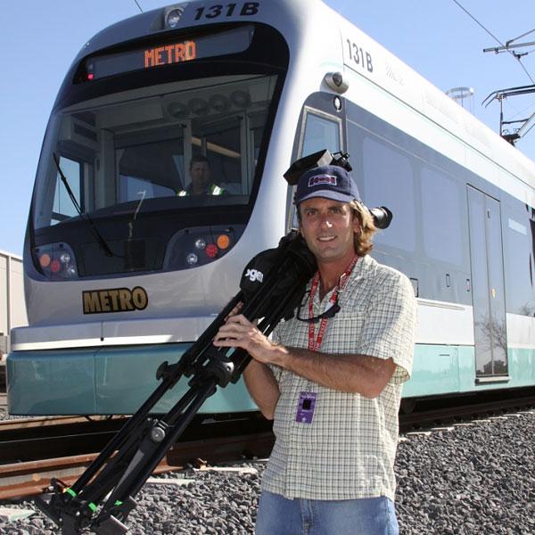 Phoenix Video Production, Kinkisharyo, Valley Metro Light Rail Project
